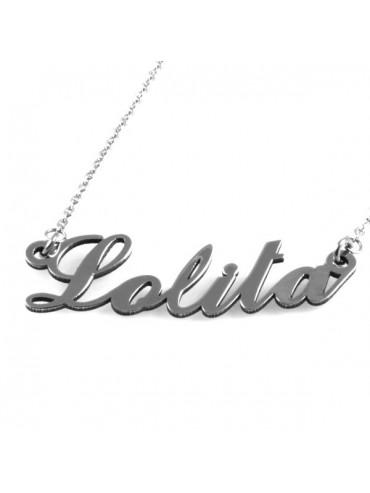 Collana con nome lolita