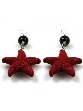 orecchini donna con stella marina