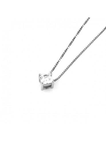 Collana punto luce in argento 925