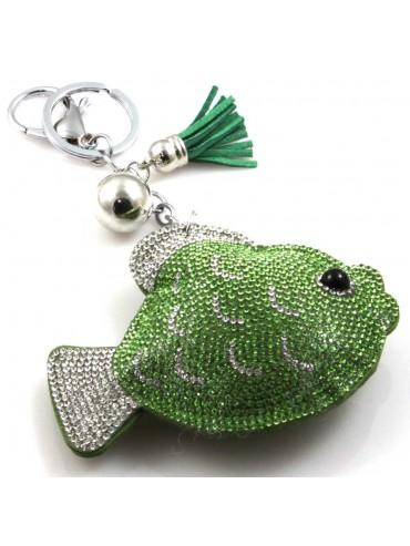 portachiavi a forma di pesce  donna personlizzazione borsa