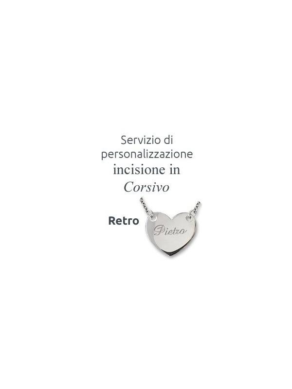 Personalizza il tuo gioiello con una incisione