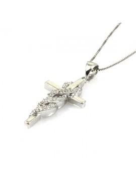 Collana con croce in argento 925