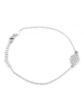 bracciale donna bimba con coccinella in argento 925