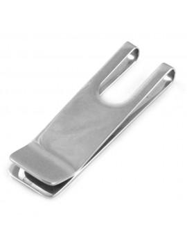 Ferma soldi in acciaio uomo personalizzabile con incisione - fsl027