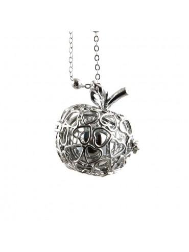 chiama angeli collana ciondolo bola messicana in bronzo xlofono catena fino a 90 cm diametro mm 25