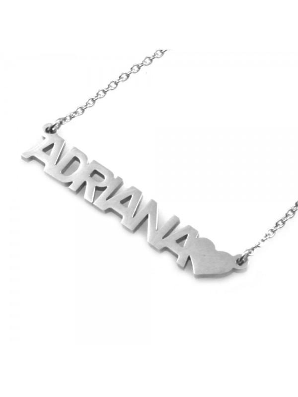 Collana con nome adriana - cll0849