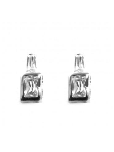 Orecchini donna punto luce argento 925 a vite mm 12 mm 5 - occ0019