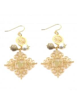 orecchini donna trinacria sicilia fichi d'india gioielli siciliani occ0109