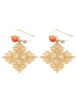 orecchini donna trinacria sicilia fichi d'india gioielli siciliani occ0124
