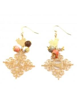 orecchini donna trinacria sicilia fichi d'india gioielli siciliani occ0134