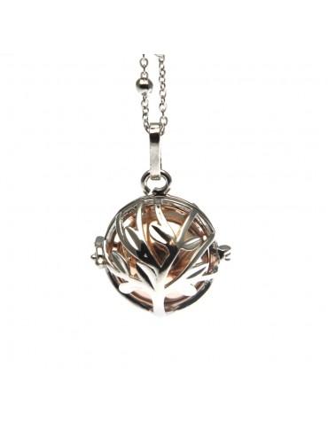 Chiama angeli collana ciondolo in bronzo motivo albero della vita - cll1262
