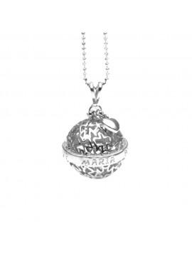 Chiama angeli collana ciondolo in argento 925 cll1268