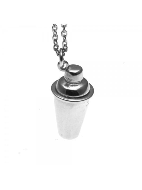 Collana con shaker ciondolo in argento 925 cln0182