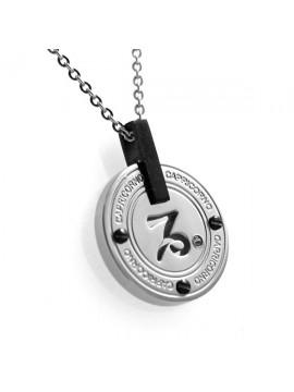 Collana con segno zodiacale capricorno