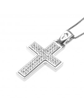 Collana croce ciondolo donna argento 925 - cln0331