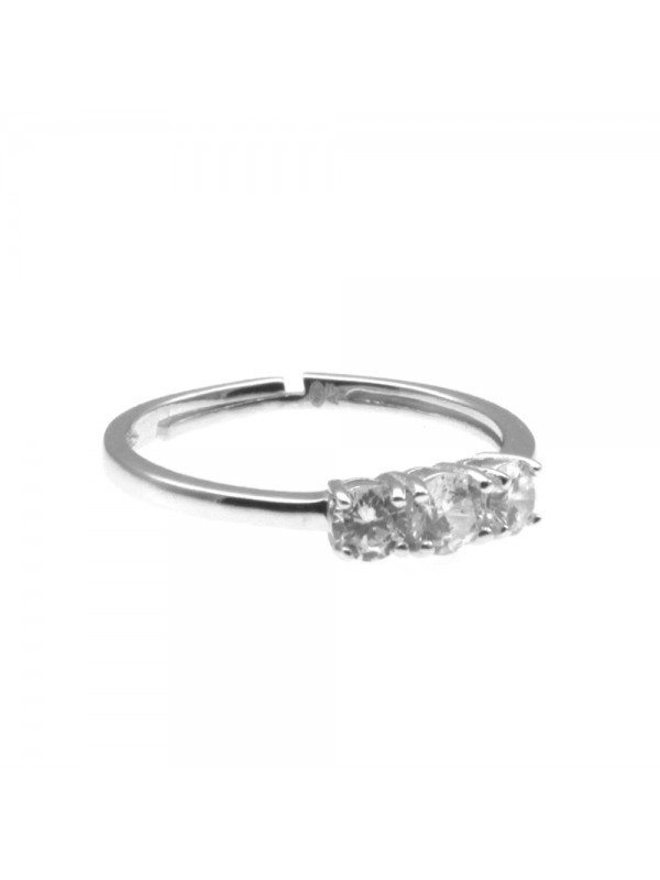 Anello donna trilogy in argento 925 all0005