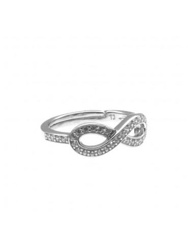Anello donna infinito in argento 925 all0009