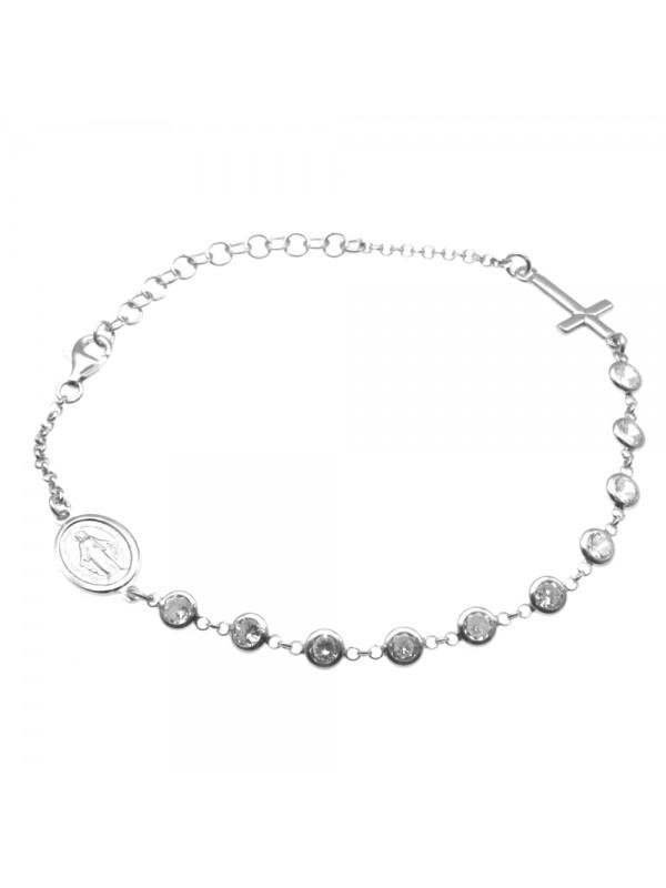 Bracciale rosario argento 925 bcc1166