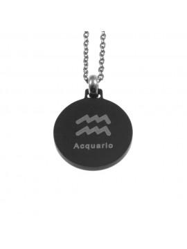 Collana acquario segno zodiacale acciaio cln0066
