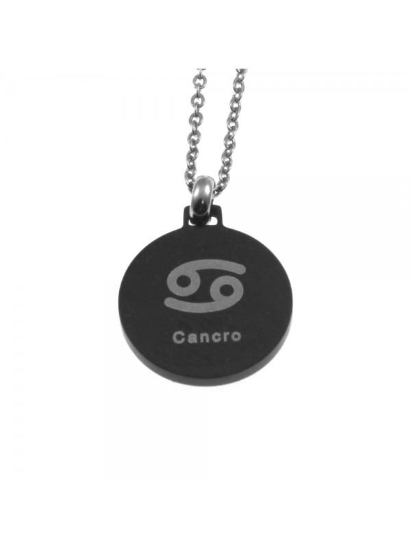 Collana cancro segno zodiacale acciaio cln0070