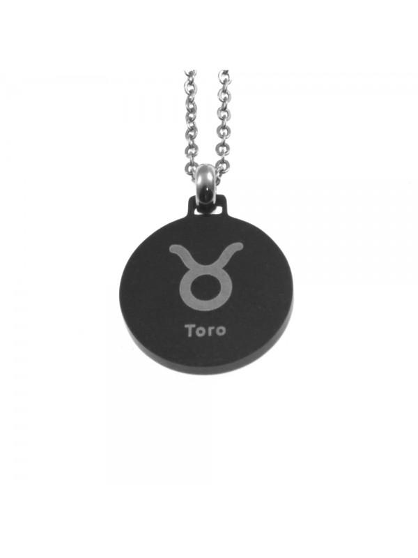 Collana toro segno zodiacale acciaio cln0079