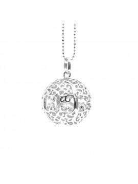 chiama angeli donna in argento con albero della vita cll1493
