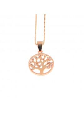 collana donna albero della vita in argento 925 cll1703