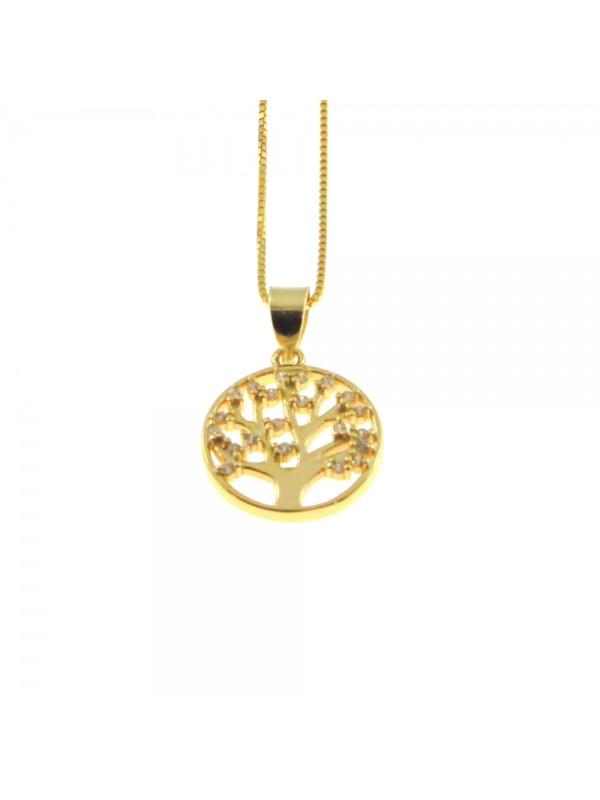 Collana albero della vita donna argento 925 cln0360