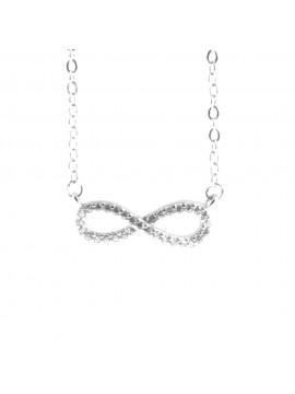 collana infinto donna ciondolo argento cll1854