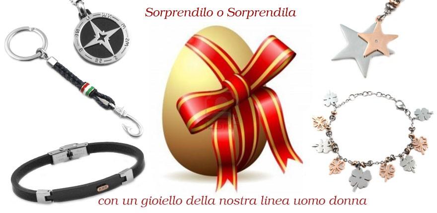 I gioielli per le vostra uova di pasqua per lui e per lei